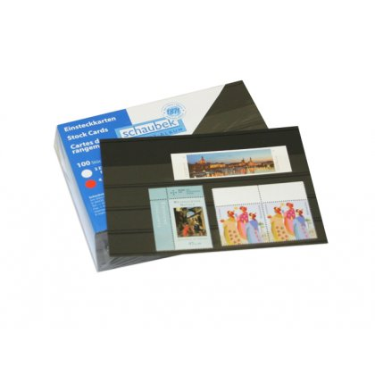 stock cards with protector sheet, 4 film stripes 156 mm x...