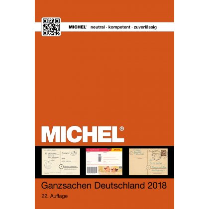 MICHEL-Germany-Catalogue postal stationaries 2018